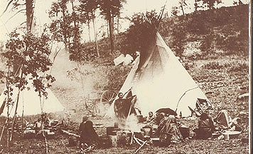 how to build an apache wickiup