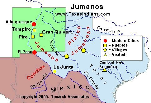 The Jumano Indians of Texas
